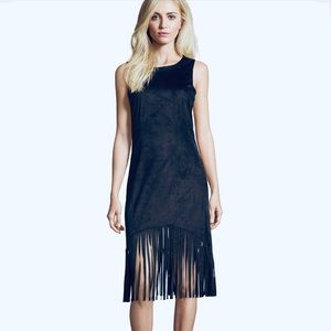Romeo + Juliet Black Midi Dress NWT